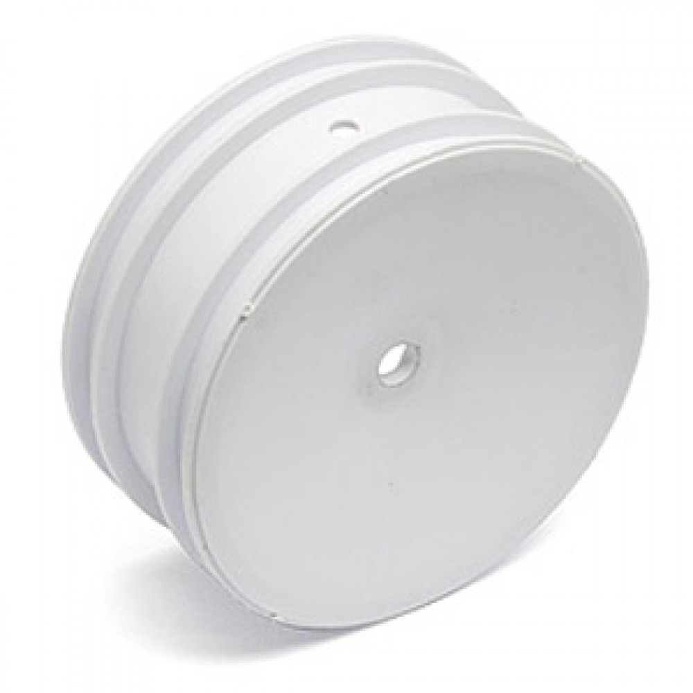 TEAM ASSOCIATED AS9690 BUGGY FRONT WHEEL HEX  WHITE