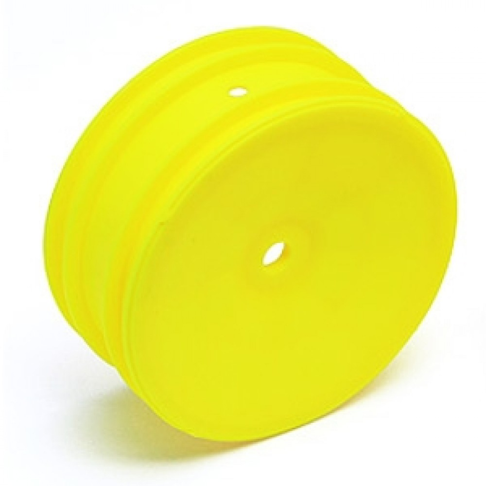 TEAM ASSOCIATED AS9691 BUGGY FRONT WHEEL HEX YELLOW