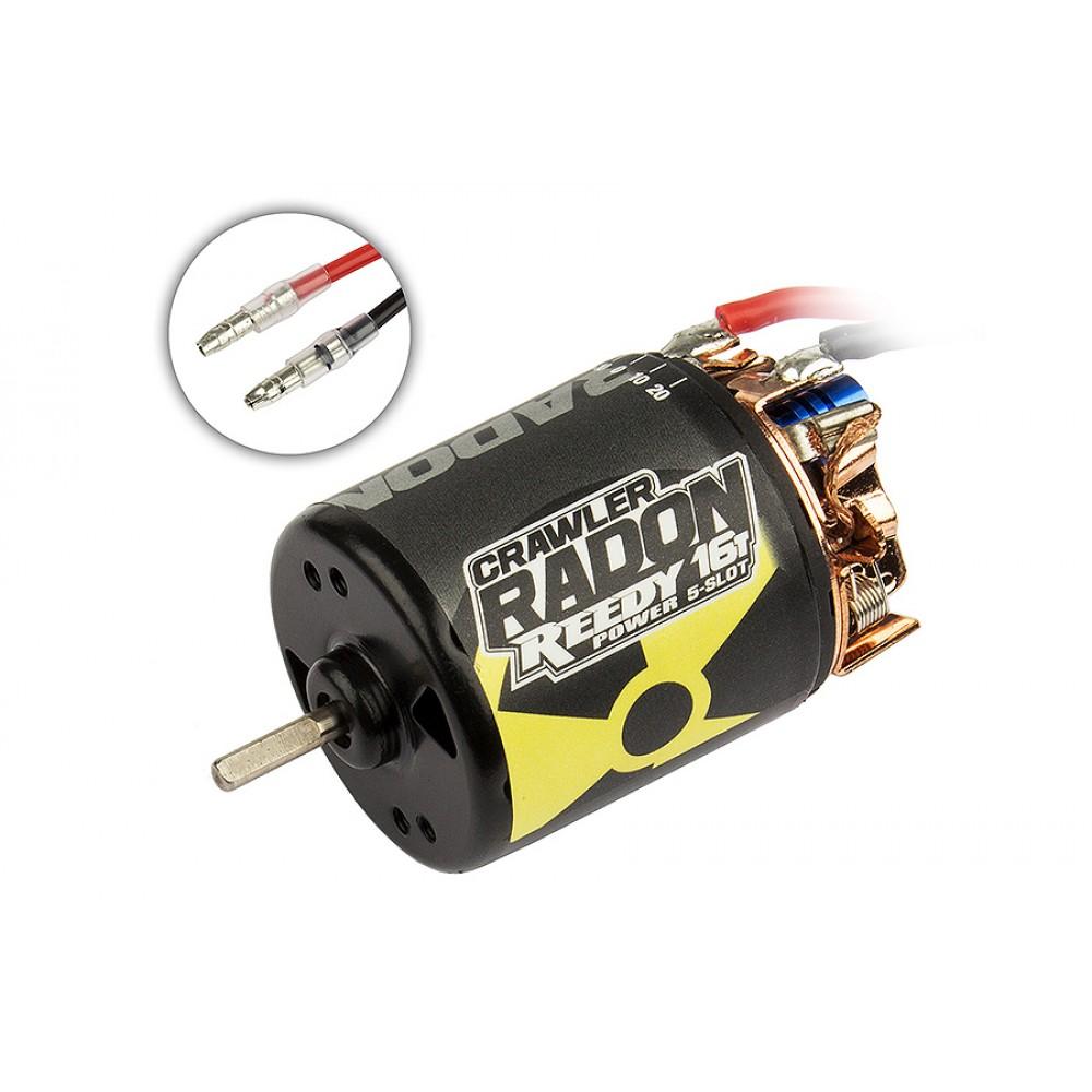 Reedy Radon 2 Crawler 16T 5-Slot 1850KV Brushed Motor AS27424