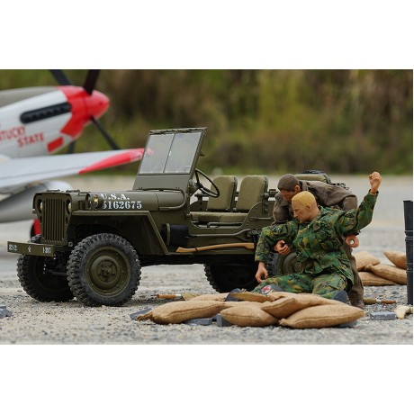 Roc Hobby 1/6th Military Scaler RTR ROC001RS