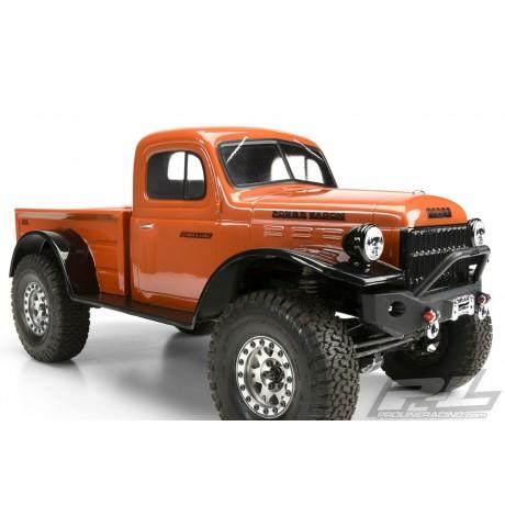 Proline PL3499-00 1946 Dodge Power Wagon Clear Body Crawler 313mm WB