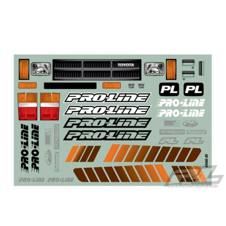 Proline PL3466-00 1985 Toyota Hilux SR5 Clear Body SCX10 313 WB