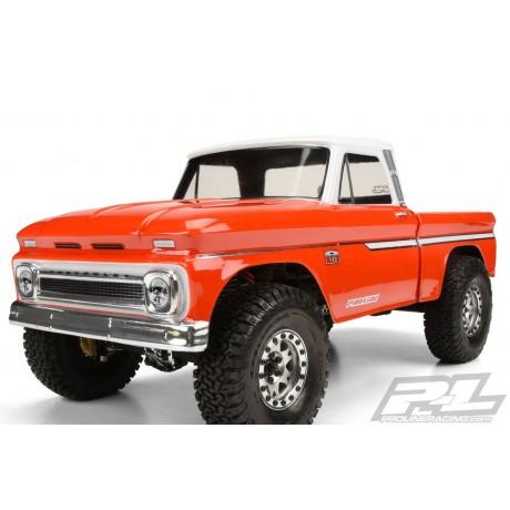 Proline PL3483-00 1966 Chevy C10 Body - Cab & Bed 313mm SCX10