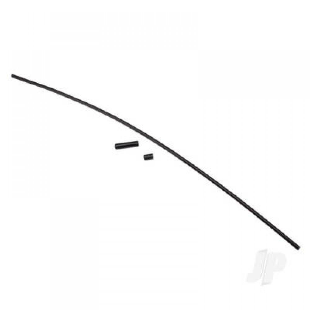 Traxxas TRX1726A Antenna tube (1)/ vinyl antenna cap (1)/ wire retainer (1)