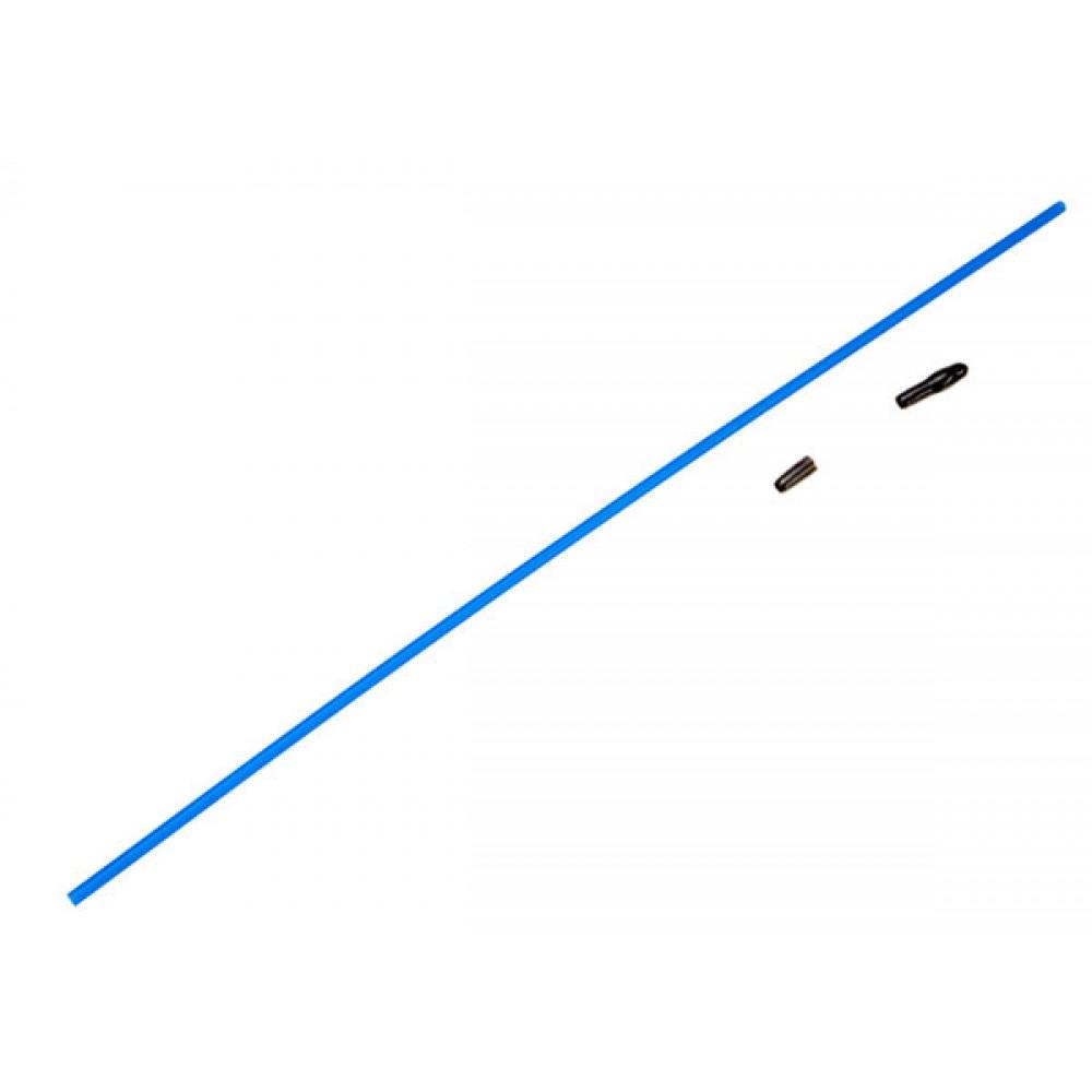 Traxxas TRX1726 Antenna tube (1)/ vinyl antenna cap (1)/ wire retainer (1)