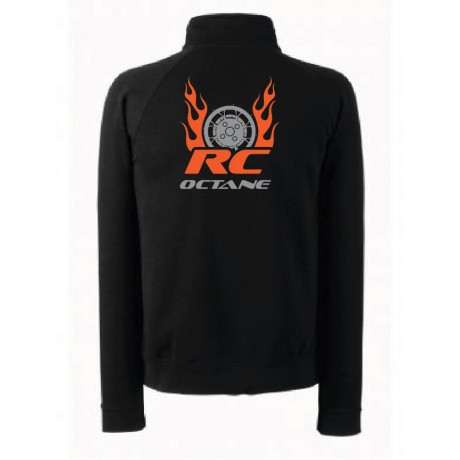 R C Octane Team Sweat Shirt Size L