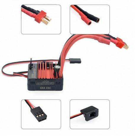 Surpass Scale Crawler ESC & Motor Combo 5 Slot 16T & 60 Amp