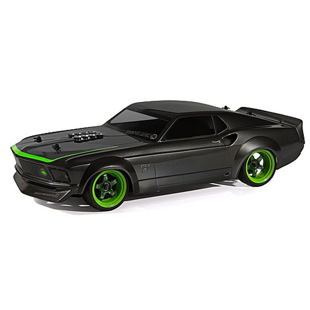 Hpi nitro rs4 3 evo rtr with 1969 ford mustang rtr x