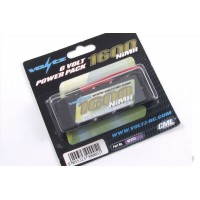 Voltz 1600mah 6.0v Straight RX Pack Battery VZ0111