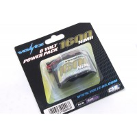 Voltz 1600mah 6.0v Hump RX Pack Battery VZ0112