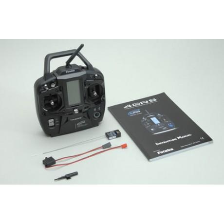 Futaba T4GRS - 2.4GHz T-FHSS 4-Channel Combo inc R304SB Telemetry Dry