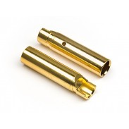 HPI 101951 Female Gold Connectors (5 Pairs) (4.0mm) 101951