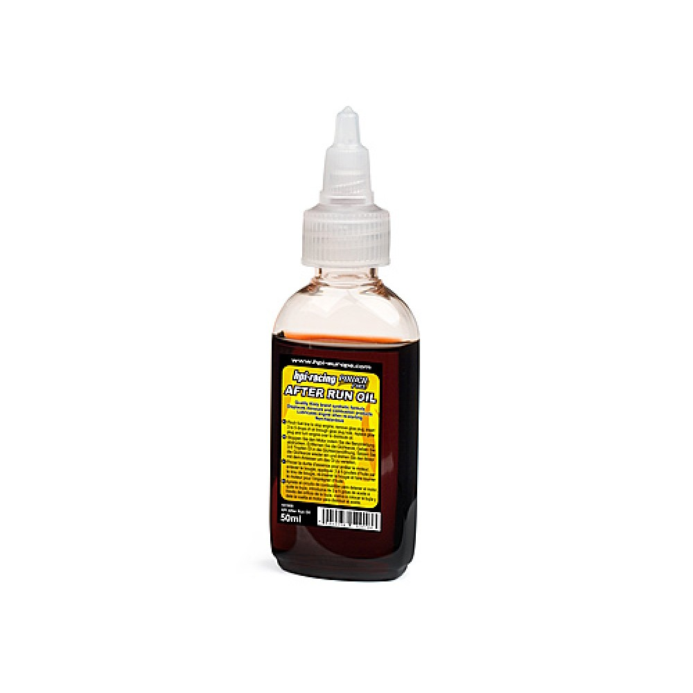 Hpi engine after run oil 50ml for What takes motor oil out of clothes