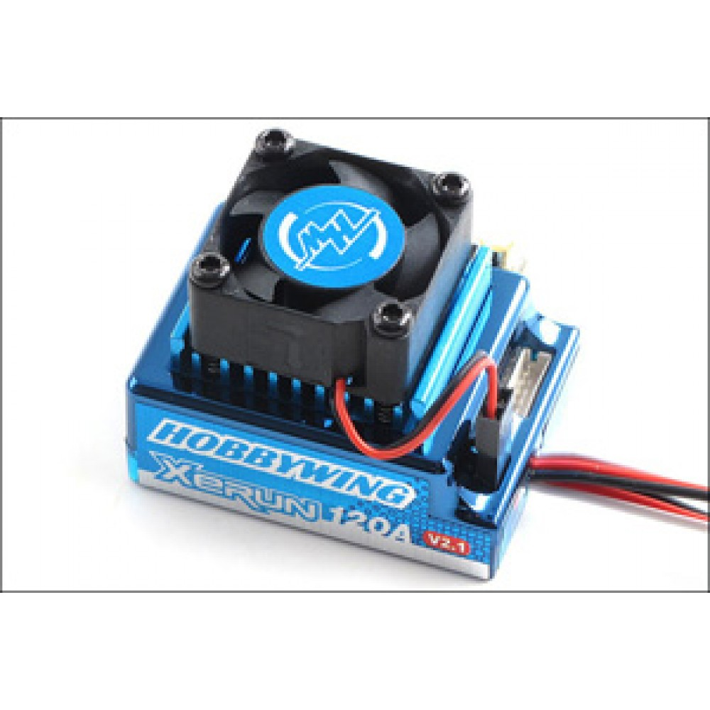 Hobbywing HW81020170 XERUN - V2.1 - BL ESC-120A - Blue