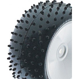 Schumacher U6558 - Mini Spike 2; Rear Tyres - Yellow (pr)
