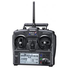 Sanwa EXZES ZZ 4 Channel Radio Set - SA101A32071A