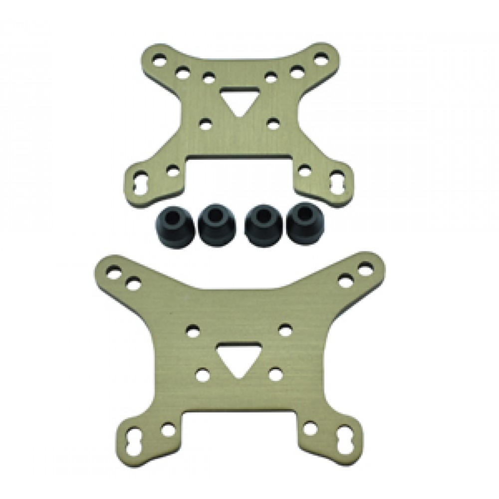 LC Racing LCL6009 Shock Tower Set - Alloy