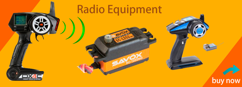 radio equipment for rc cars