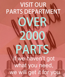Parts department for rc cars